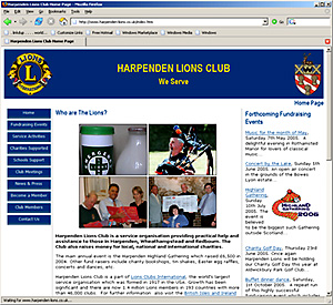 Harpenden Lions Club home page